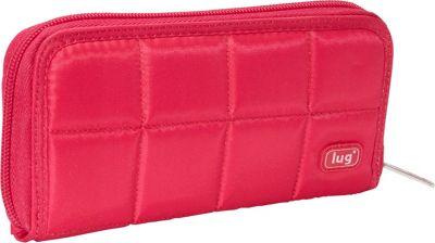 Lug Shuffle Wallet Rose - Lug Women's Wallets
