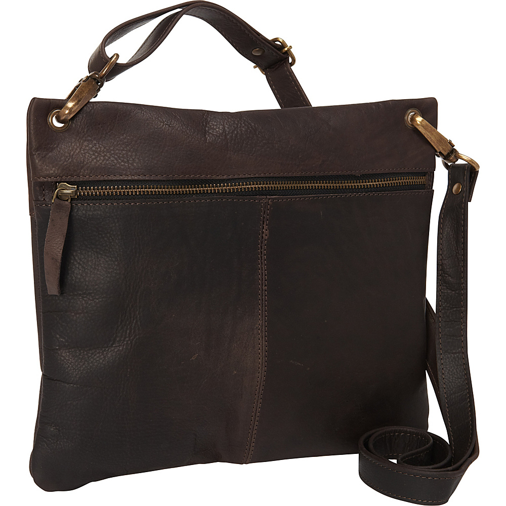 Sharo Leather Bags Women s Dark Brown Cross Body Bag Dark Brown Sharo Leather Bags Leather Handbags