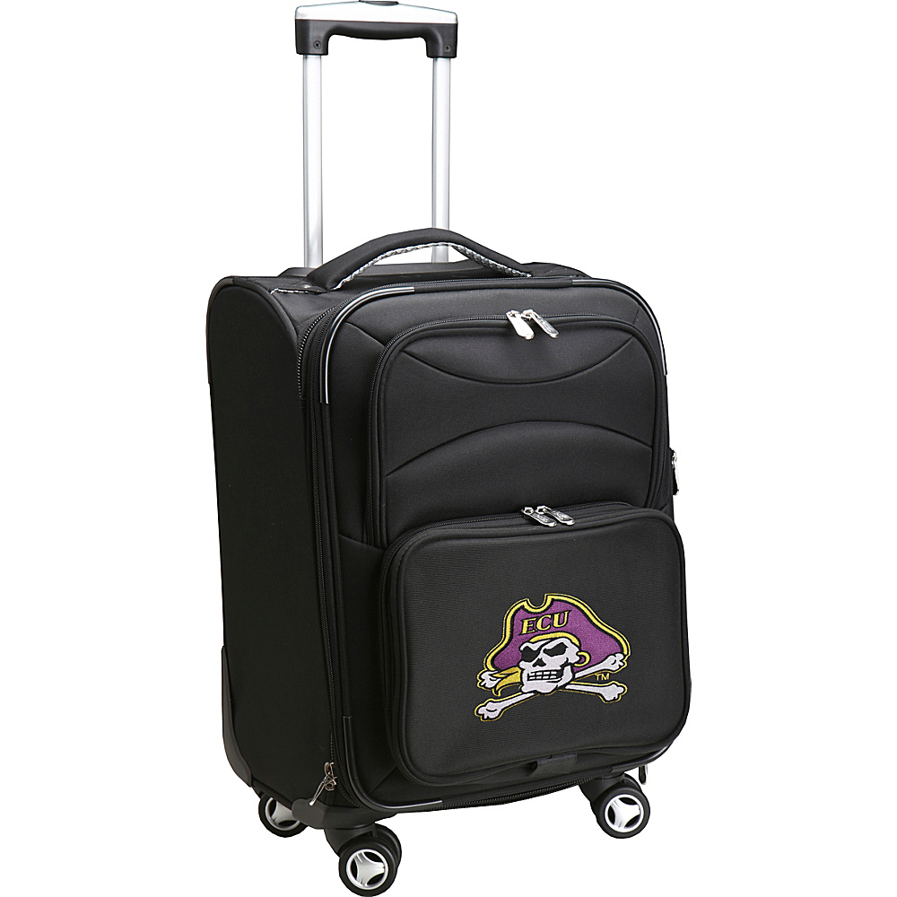 Denco Sports Luggage NCAA East Carolina University 20 Domestic Carry-On Spinner East Carolina University Pirates - Denco Sports Luggage Softside Carry-On - Luggage, Softside Carry-On