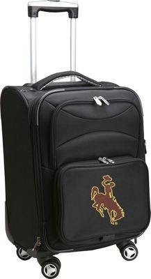Denco Sports Luggage NCAA University of Wyoming 20 inch Domestic Carry-On Spinner University of Wyoming Cowboys - Denco Sports Luggage Softside Carry-On