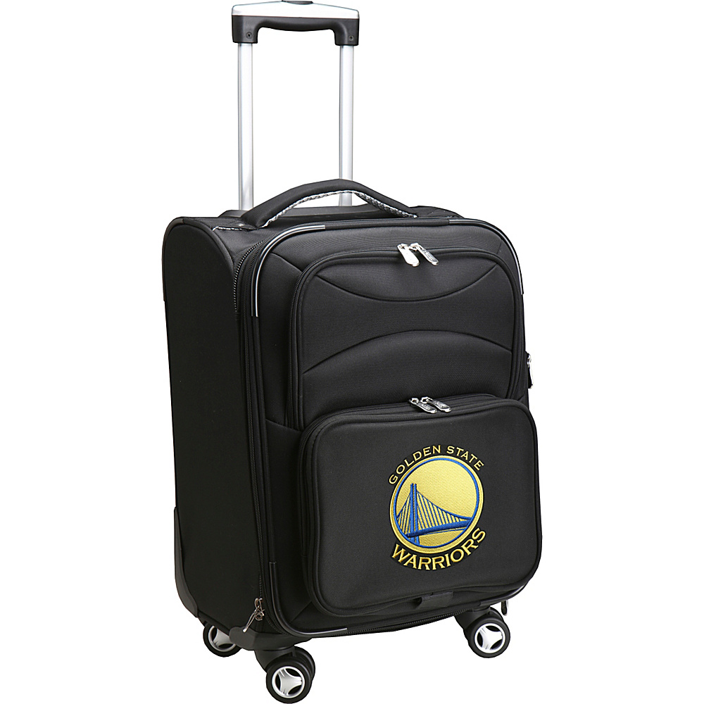 Denco Sports Luggage NBA 20 Domestic Carry-On Spinner Golden State Warriors - Denco Sports Luggage Softside Carry-On - Luggage, Softside Carry-On