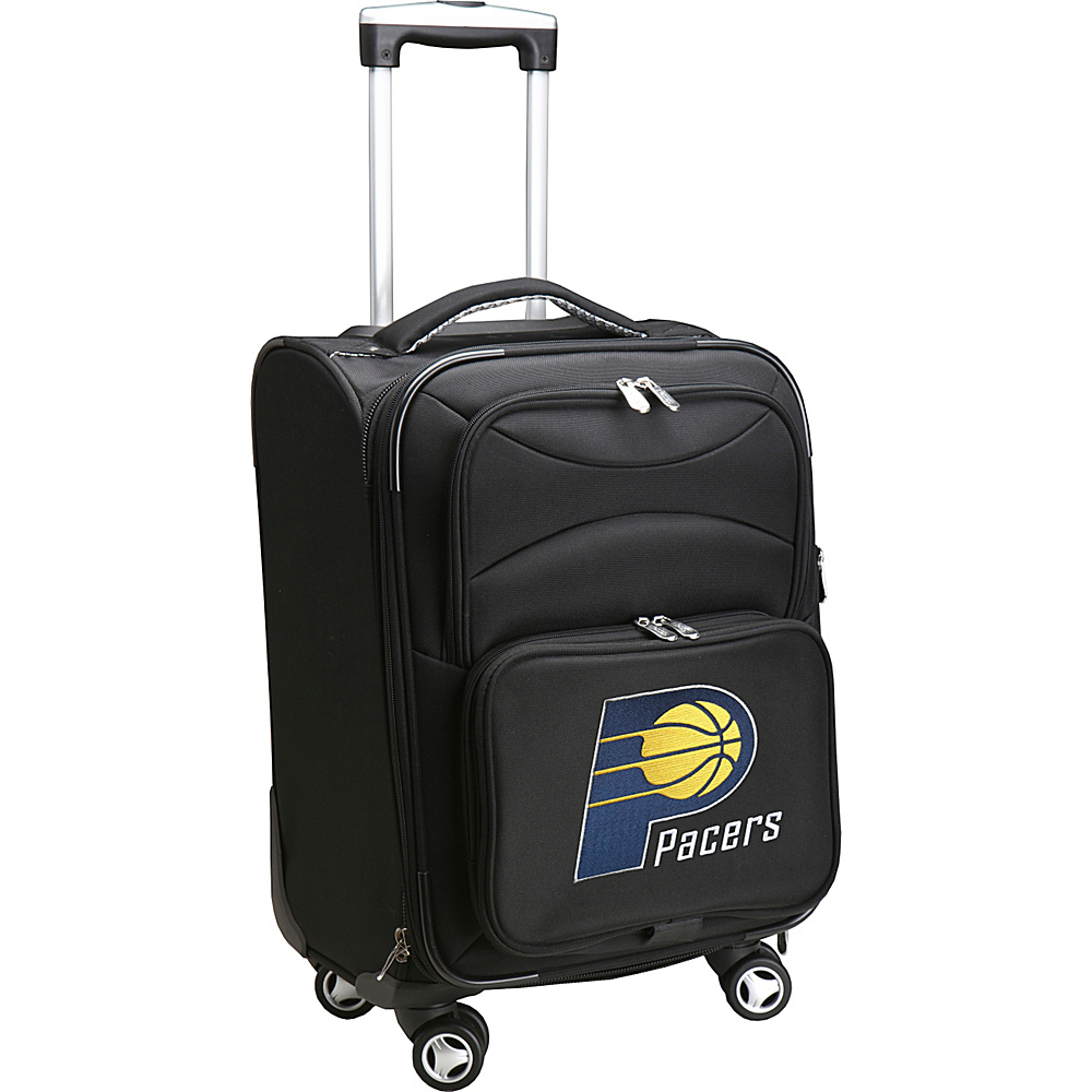 Denco Sports Luggage NBA 20 Domestic Carry-On Spinner Indiana Pacers - Denco Sports Luggage Softside Carry-On - Luggage, Softside Carry-On