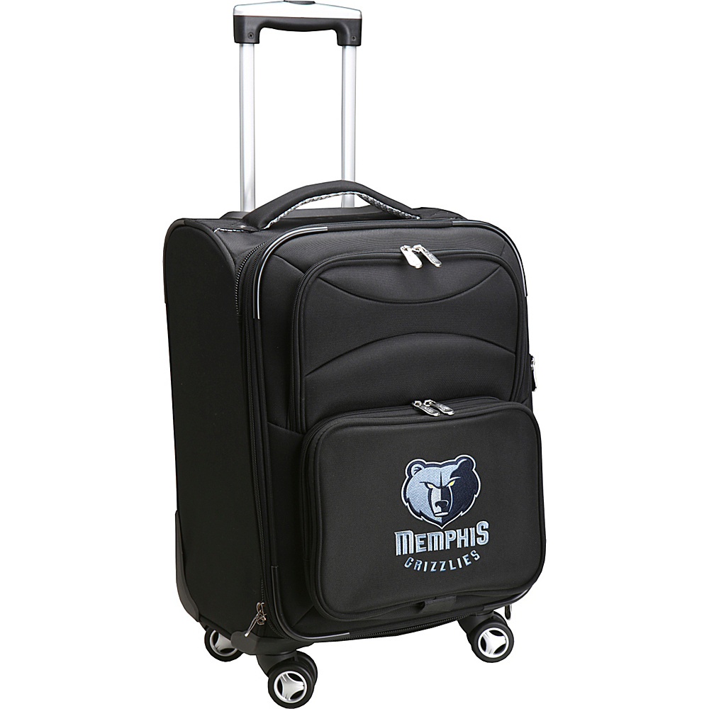 Denco Sports Luggage NBA 20 Domestic Carry-On Spinner Memphis Grizzlies - Denco Sports Luggage Softside Carry-On - Luggage, Softside Carry-On