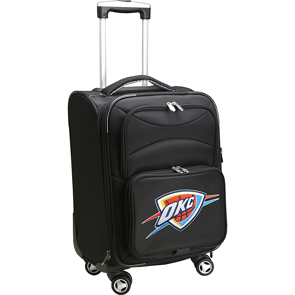 Denco Sports Luggage NBA 20 Domestic Carry-On Spinner Oklahoma City Thunder - Denco Sports Luggage Softside Carry-On - Luggage, Softside Carry-On