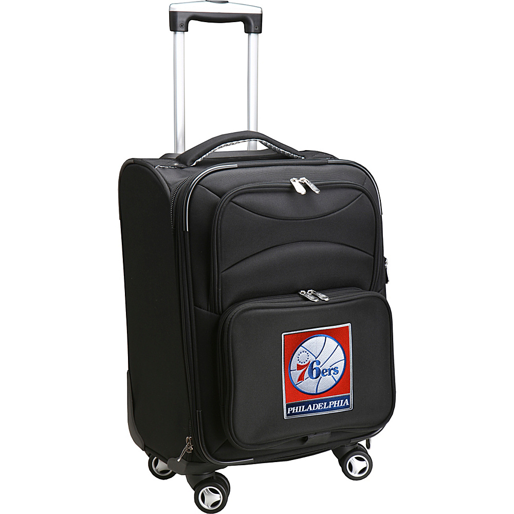 Denco Sports Luggage NBA 20 Domestic Carry-On Spinner Philadelphia 76ers - Denco Sports Luggage Softside Carry-On - Luggage, Softside Carry-On