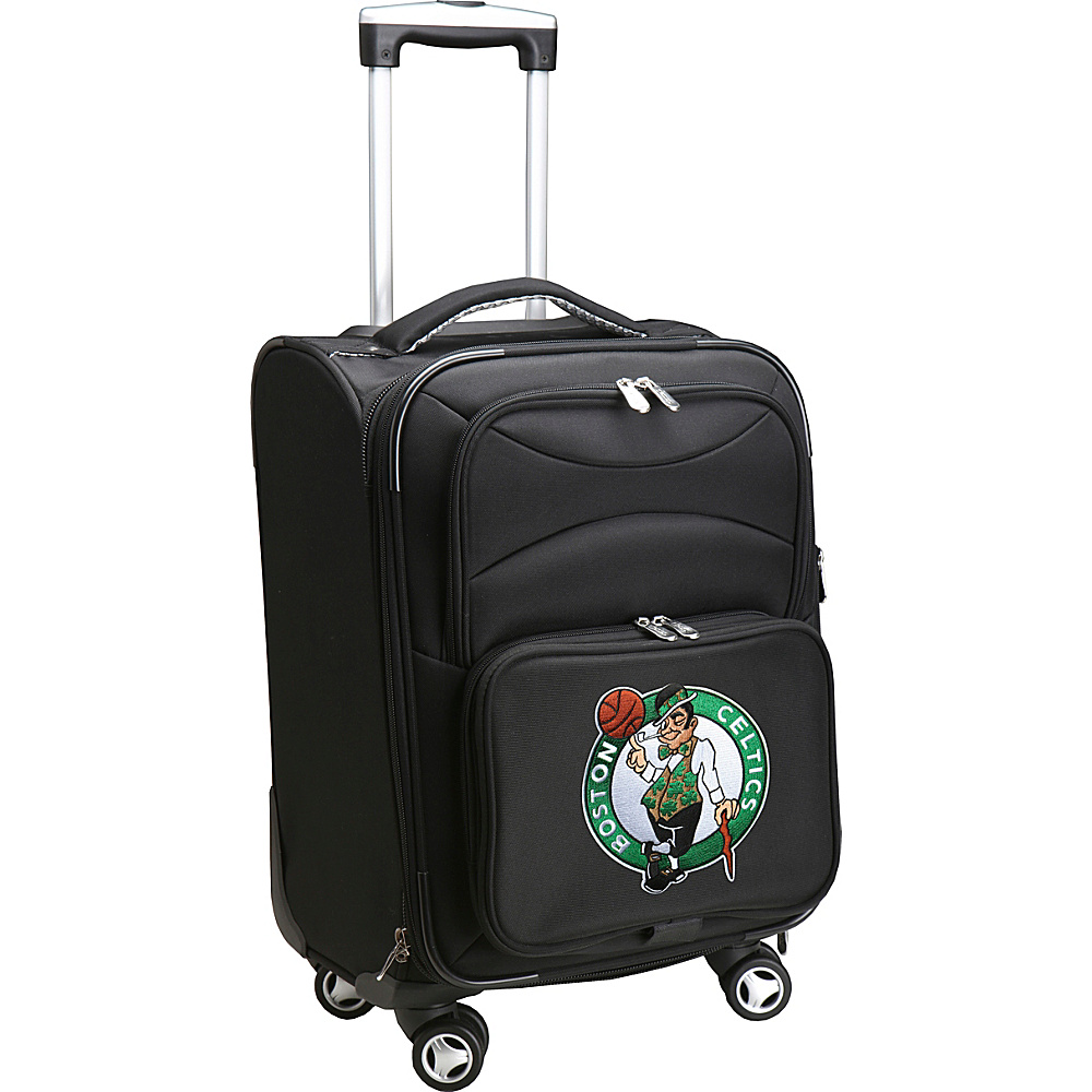 Denco Sports Luggage NBA 20 Domestic Carry-On Spinner Boston Celtics - Denco Sports Luggage Softside Carry-On - Luggage, Softside Carry-On