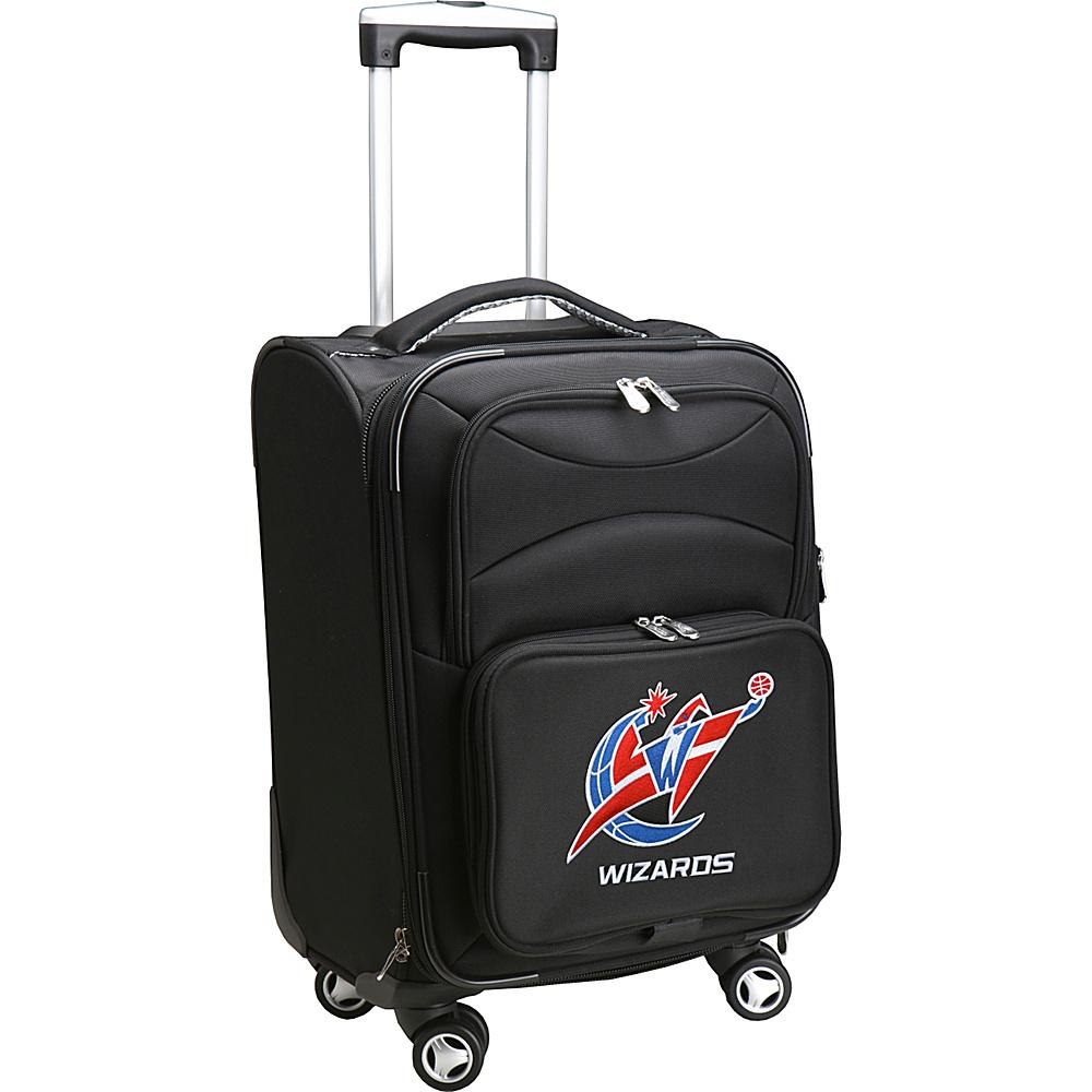 Denco Sports Luggage NBA 20 Domestic Carry-On Spinner Washington Wizards - Denco Sports Luggage Softside Carry-On - Luggage, Softside Carry-On