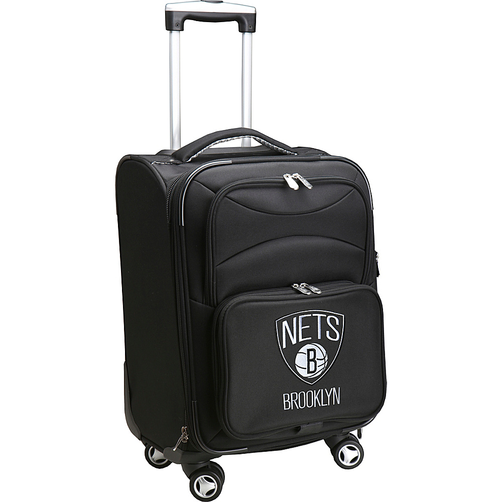 Denco Sports Luggage NBA 20 Domestic Carry-On Spinner Brooklyn Nets - Denco Sports Luggage Softside Carry-On - Luggage, Softside Carry-On