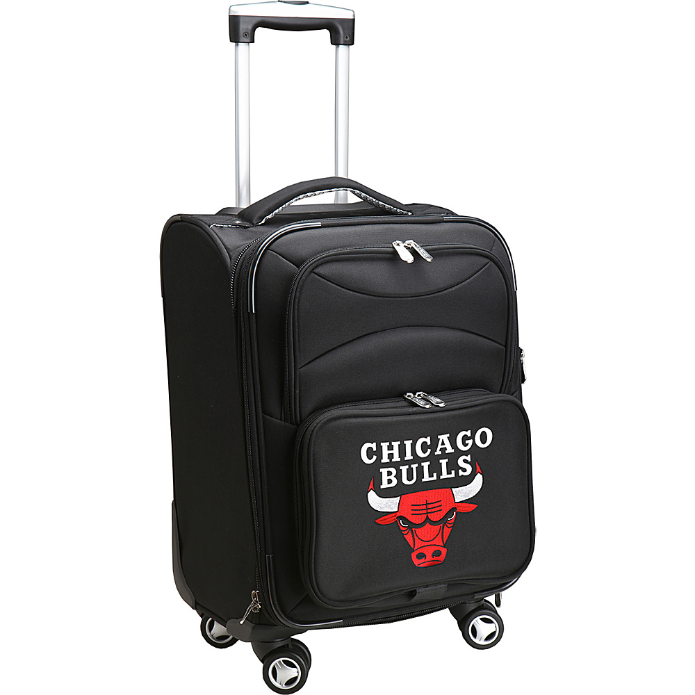 Denco Sports Luggage NBA 20 Domestic Carry-On Spinner Chicago Bulls - Denco Sports Luggage Softside Carry-On - Luggage, Softside Carry-On