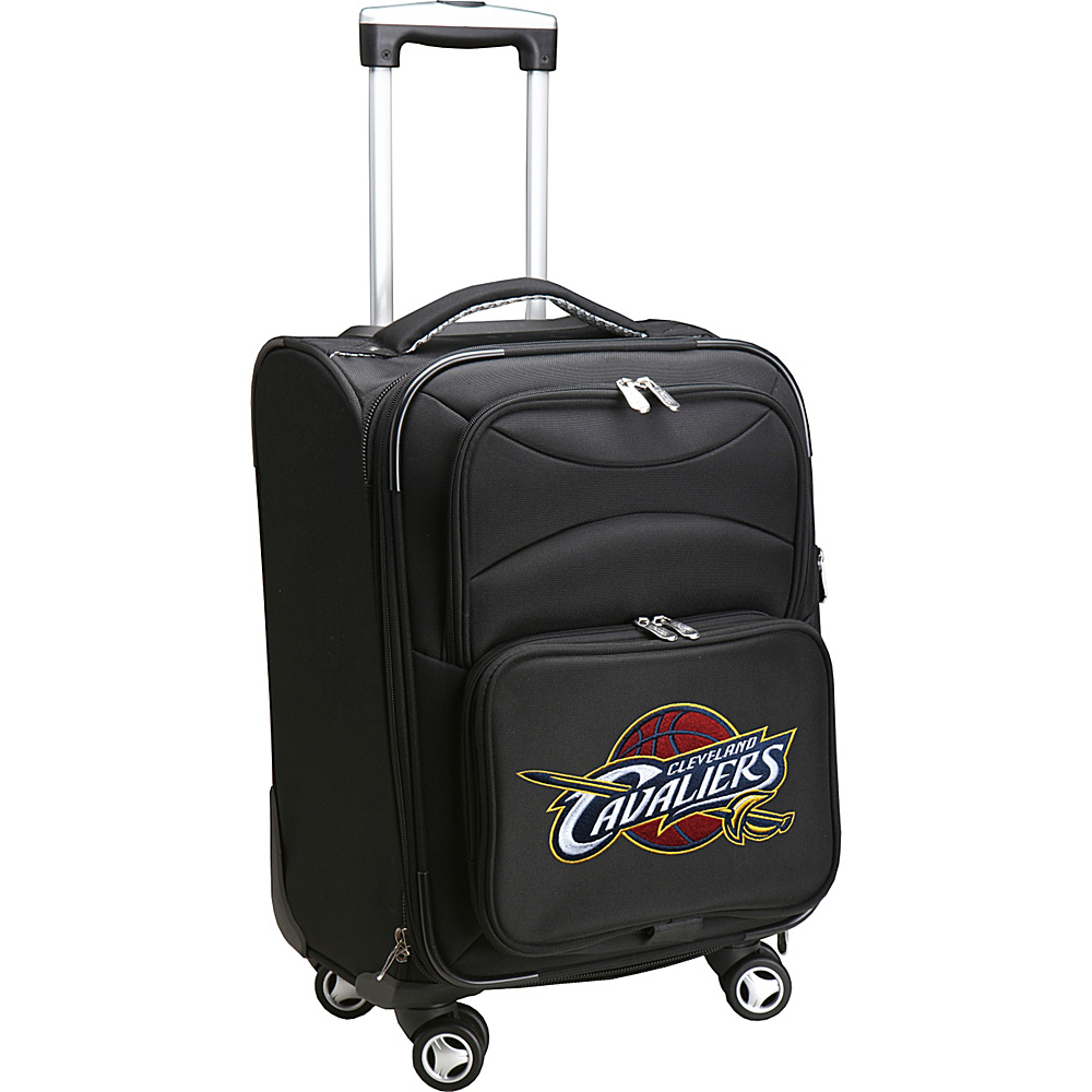 Denco Sports Luggage NBA 20 Domestic Carry-On Spinner Cleveland Cavaliers - Denco Sports Luggage Softside Carry-On - Luggage, Softside Carry-On