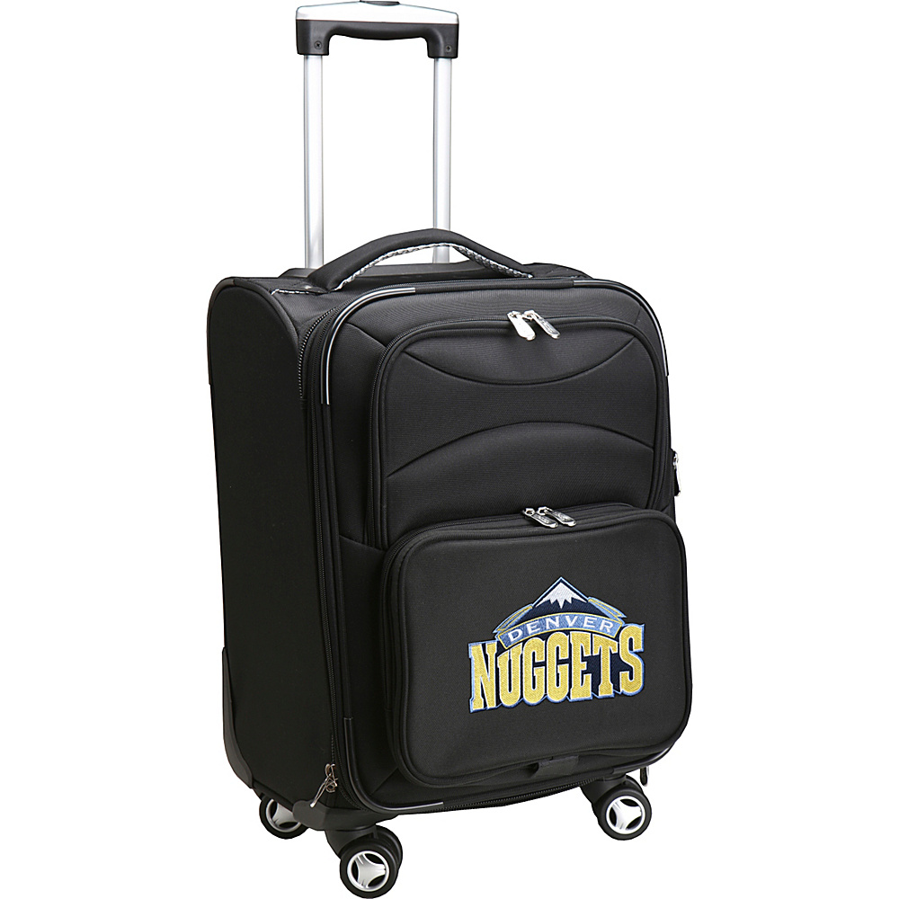 Denco Sports Luggage NBA 20 Domestic Carry-On Spinner Denver Nuggets - Denco Sports Luggage Softside Carry-On - Luggage, Softside Carry-On
