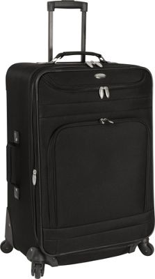 Travel Gear Spectrum II 25 inch Expandable Upright BLACK/BLACK - Travel Gear Softside Checked