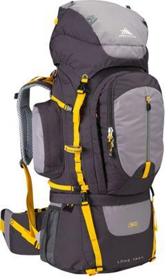 High Sierra Long Trail 90 Backpacking Pack Mercury/Ash/Yell-O - High Sierra Backpacking Packs