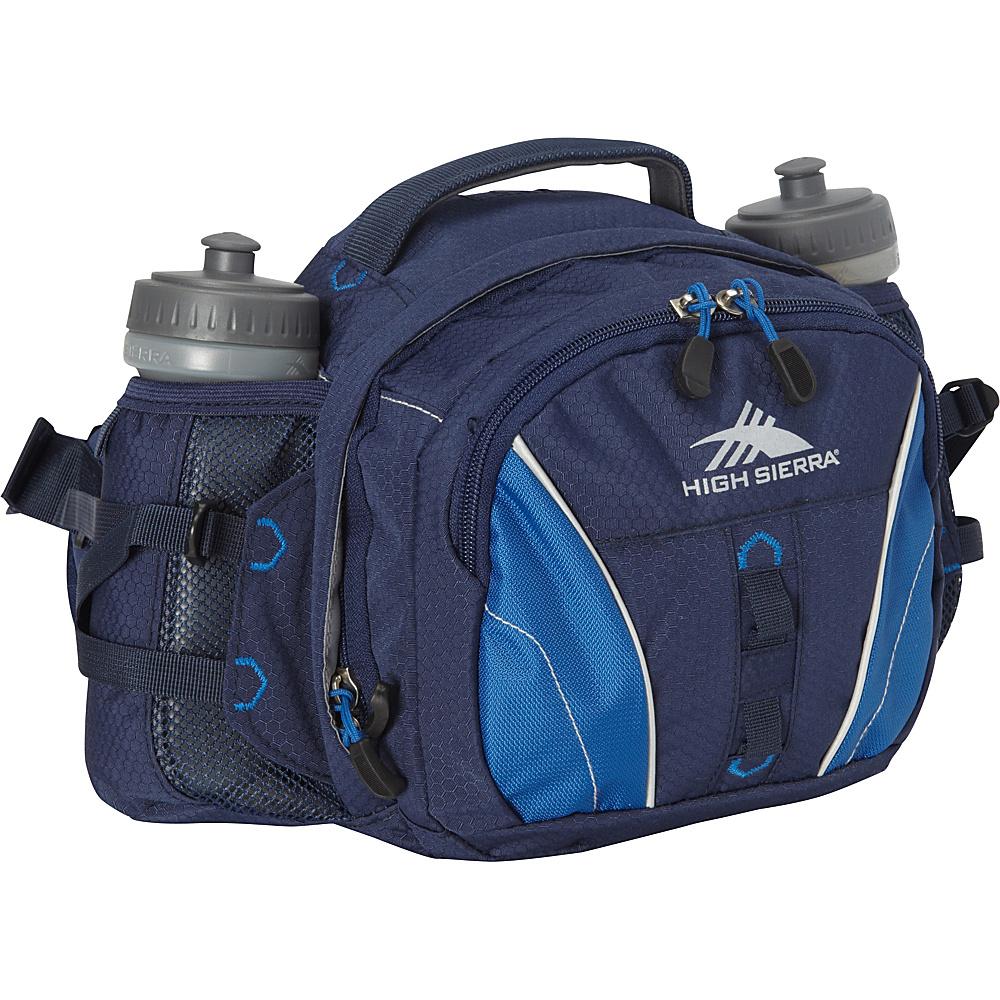 High Sierra Ridgeline Lumbar Pack True Navy Royal True Navy High Sierra Day Hiking Backpacks