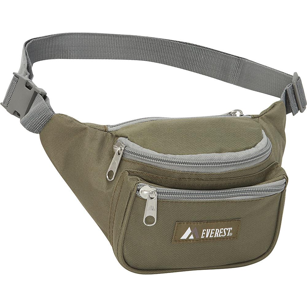 Everest Signature Waist Pack - Standard Olive - Everest Waist Packs - Backpacks, Waist Packs