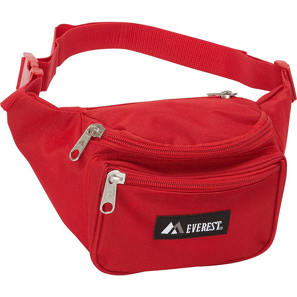 Everest Signature Waist Pack - Standard Red - Everest Waist Packs - Backpacks, Waist Packs
