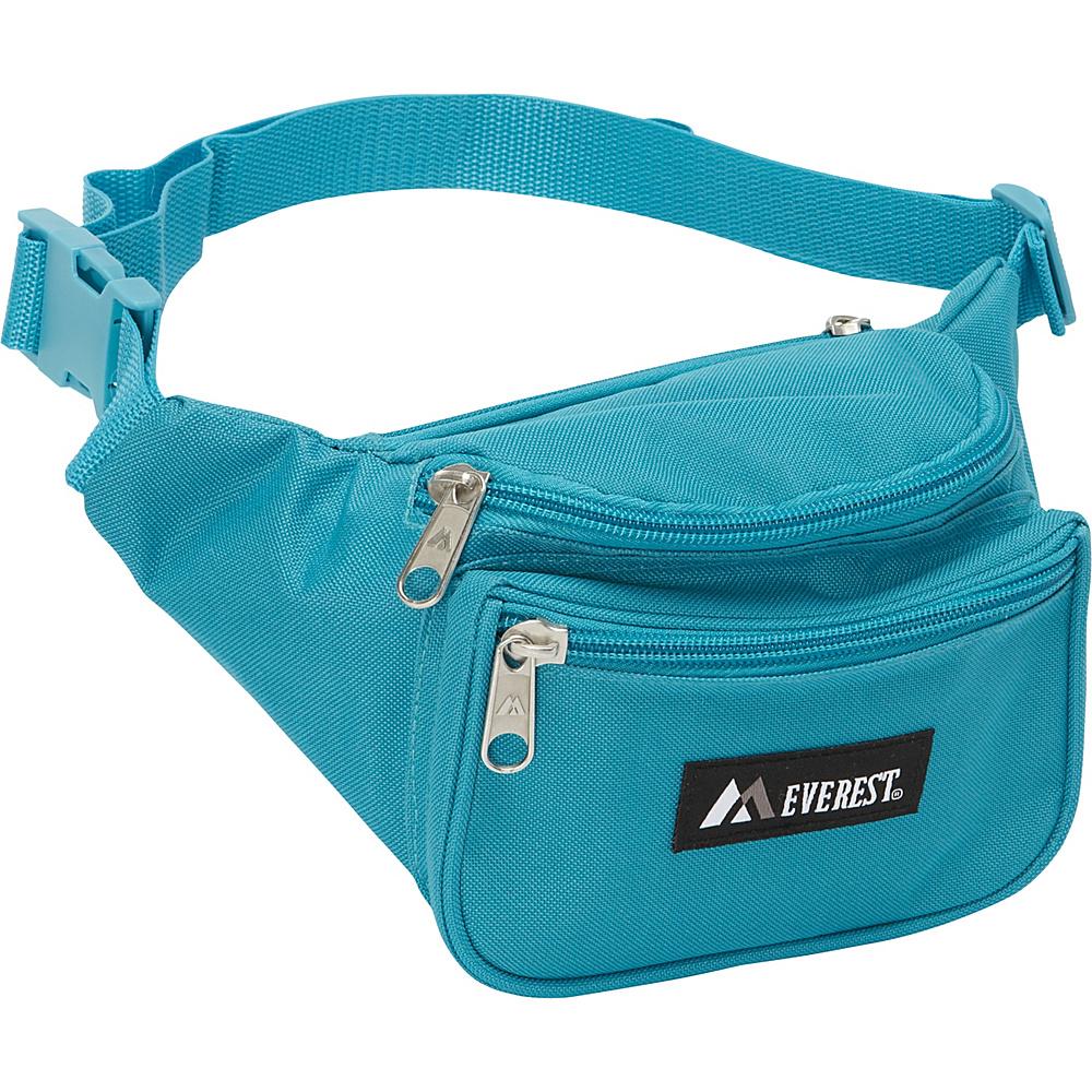 Everest Signature Waist Pack - Standard Turquoise - Everest Waist Packs - Backpacks, Waist Packs