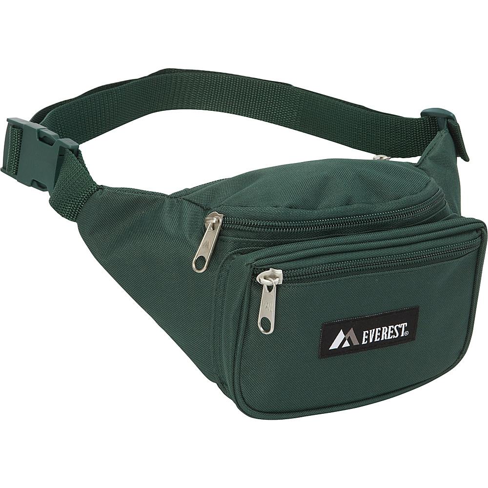Everest Signature Waist Pack - Standard Green - Everest Waist Packs - Backpacks, Waist Packs