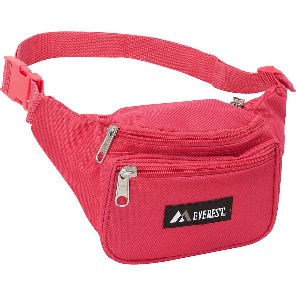 Everest Signature Waist Pack - Standard Hot Pink - Everest Waist Packs - Backpacks, Waist Packs