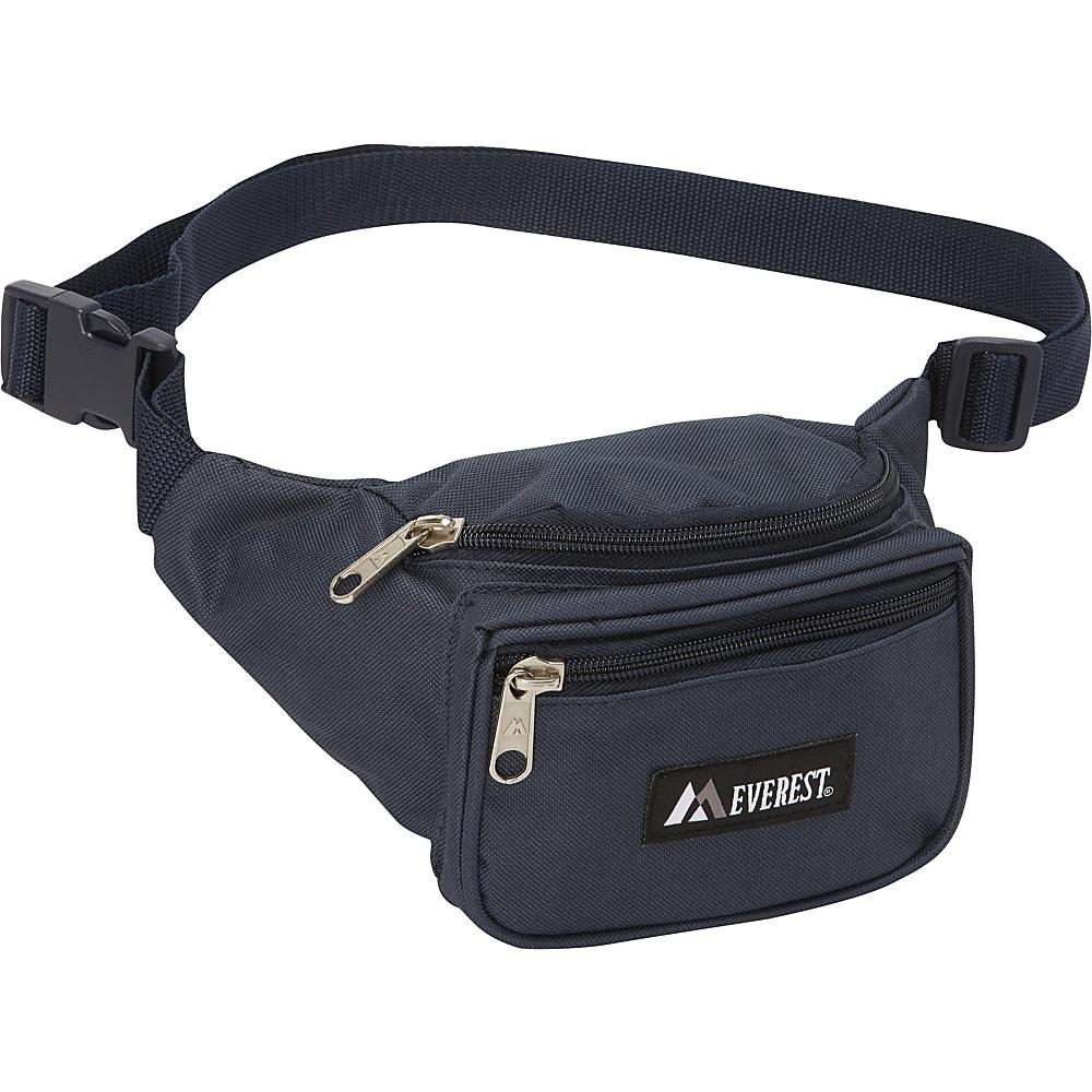 Everest Signature Waist Pack - Standard Navy - Everest Waist Packs - Backpacks, Waist Packs