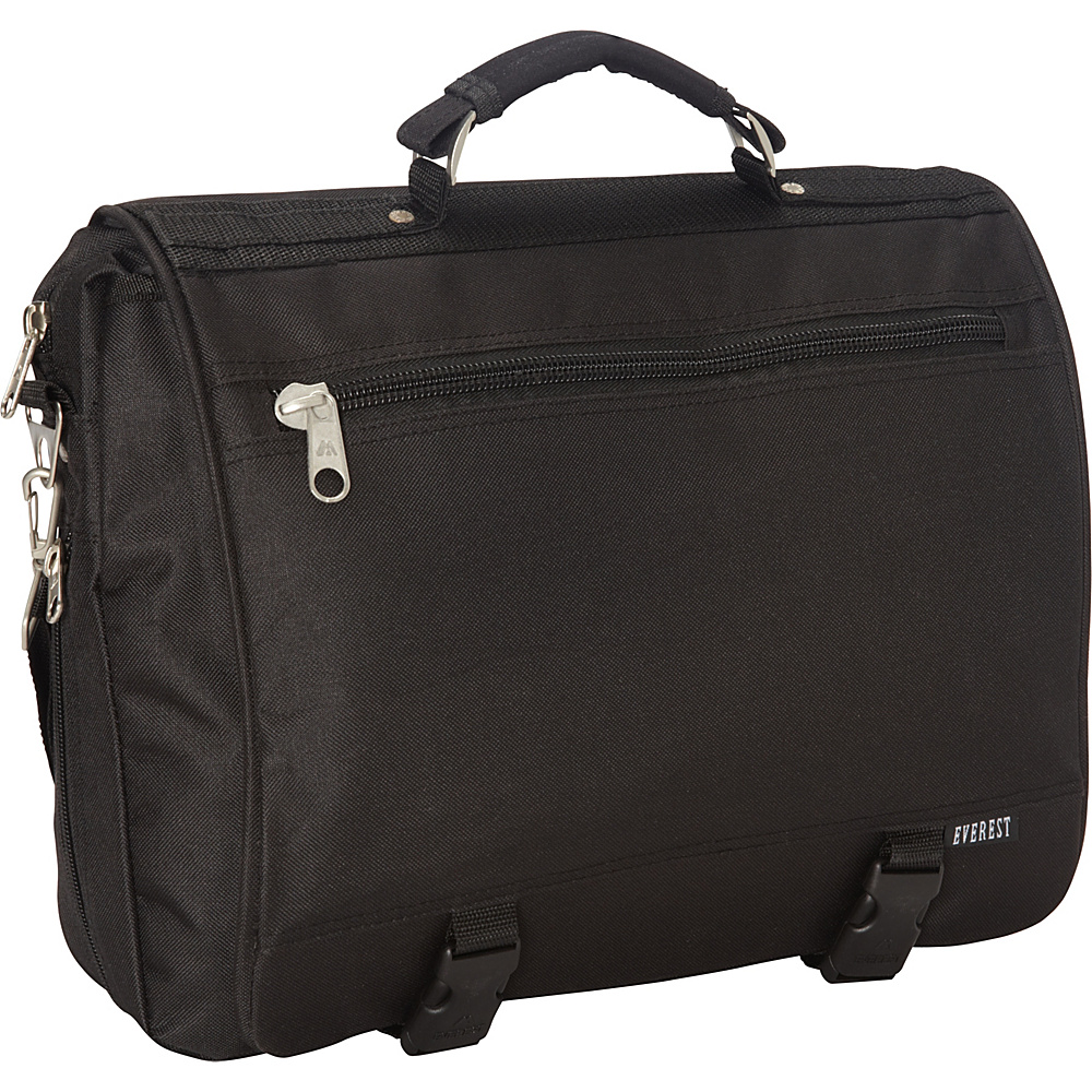 Everest Portfolio Briefcase Black - Everest Non-Wheeled Business Cases