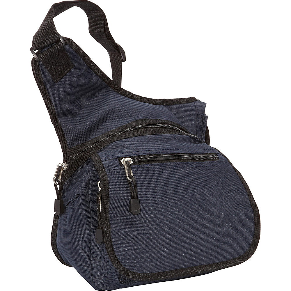 Everest Messenger Bag - Medium Navy/Black - Everest Messenger Bags - Work Bags & Briefcases, Messenger Bags