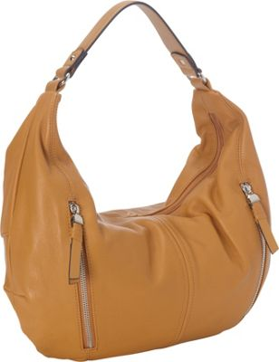 Tignanello Casualist Hobo Shoulder Bag Cognac - Tignanello Leather Handbags
