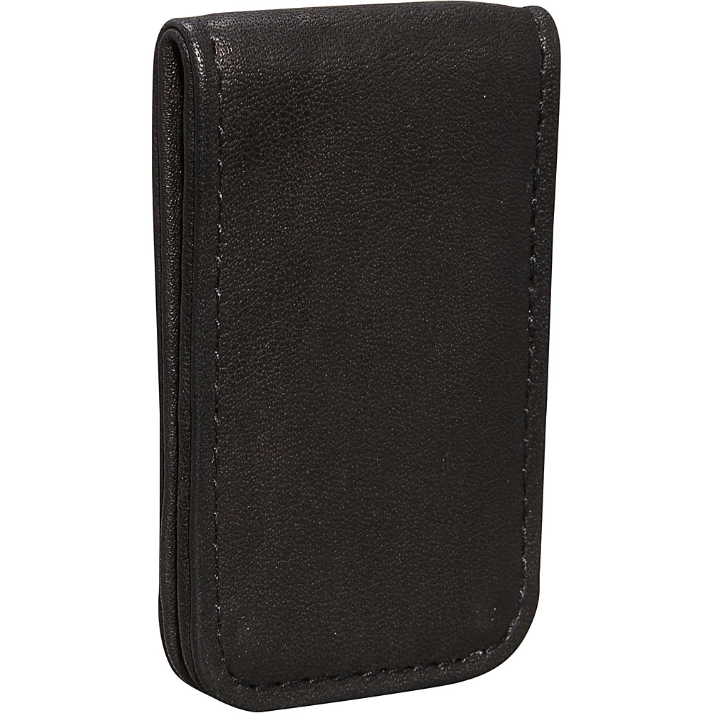 Derek Alexander Leather Bill Clip Black - Derek Alexander Mens Wallets - Work Bags & Briefcases, Men's Wallets