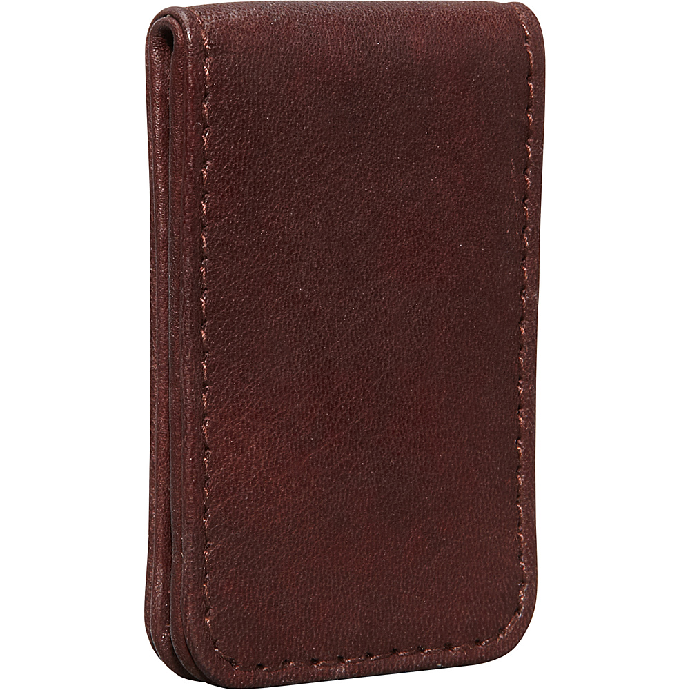 Derek Alexander Leather Bill Clip Brown - Derek Alexander Mens Wallets - Work Bags & Briefcases, Men's Wallets