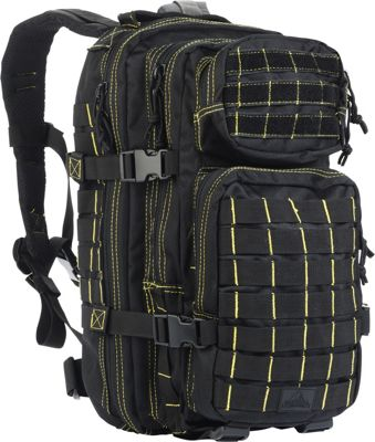 Red Rock Outdoor Gear Red Rock Outdoor Gear Rebel Assault Pack Black / Yellow - Red Rock Outdoor Gear Day Hiking Backpacks