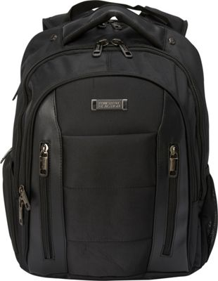 Kenneth Cole Reaction An Easy Place Laptop Backpack Black - Kenneth Cole Reaction Business & Laptop Backpacks