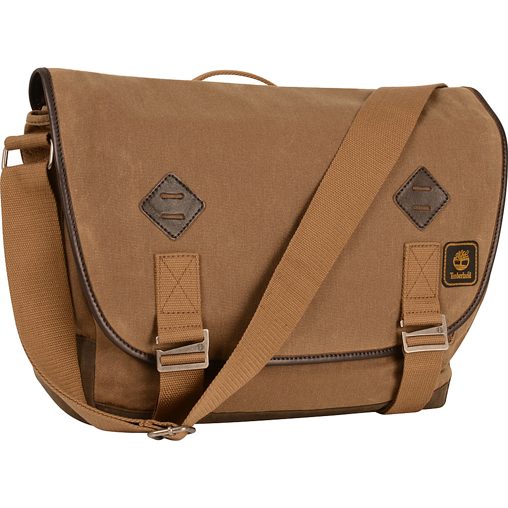 Timberland Mt. Madison Messenger Bag Tan Brown Timberland Messenger Bags