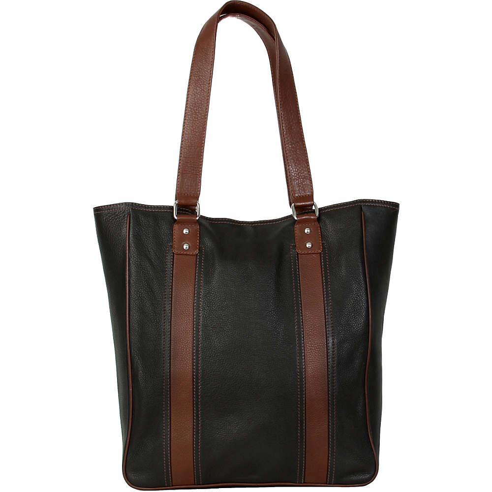 Hadaki City Tote Black - Hadaki Leather Handbags - Handbags, Leather Handbags