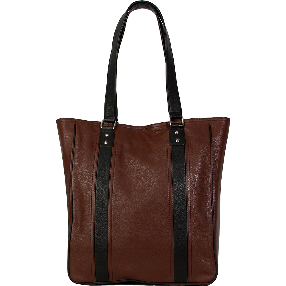 Hadaki City Tote Cognac - Hadaki Leather Handbags - Handbags, Leather Handbags
