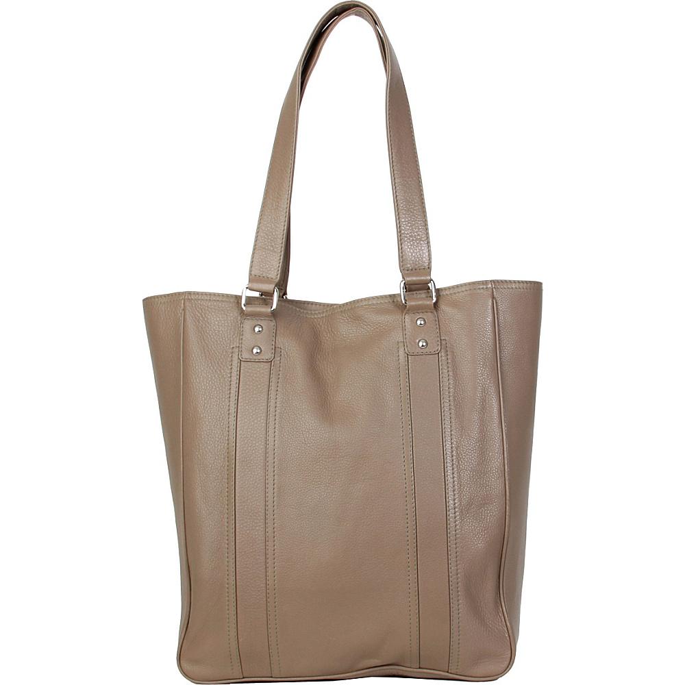 Hadaki City Tote Taupe - Hadaki Leather Handbags - Handbags, Leather Handbags