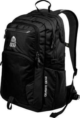 Granite Gear Sawtooth Laptop Backpack Black - Granite Gear Business & Laptop Backpacks