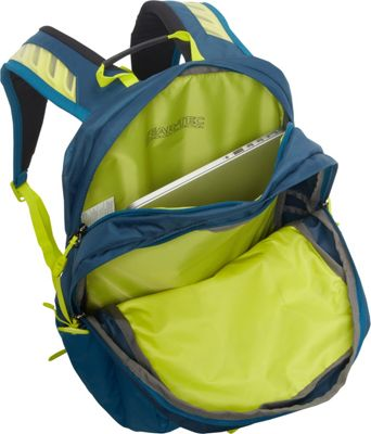 Granite Gear Sawtooth Laptop Backpack Basalt/Bleumine/Neolime - Granite Gear Business & Laptop Backpacks