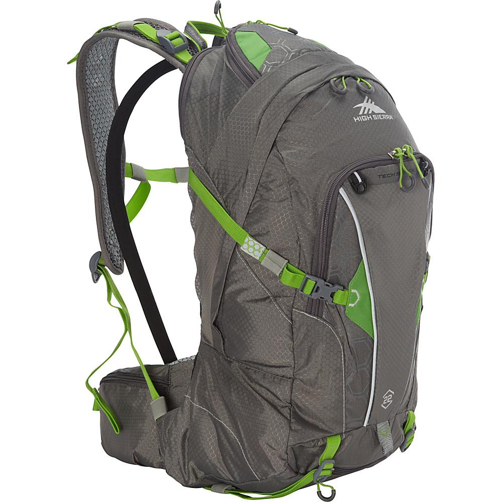 High Sierra Moray 22 Hydration Pack Charcoal Kelly High Sierra Hydration Packs and Bottles