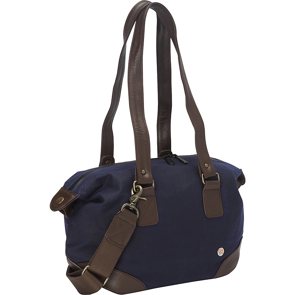 TOKEN Lafayette Waxed Duffle Bag Navy TOKEN Travel Duffels