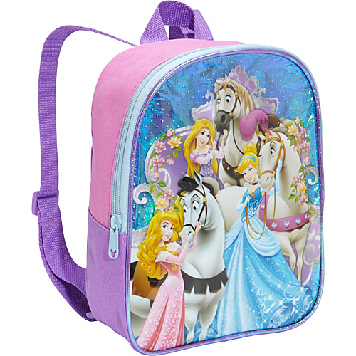 "Disney Princess 10"" Backpack Pink - Disney School & Day Hiking Backpacks"