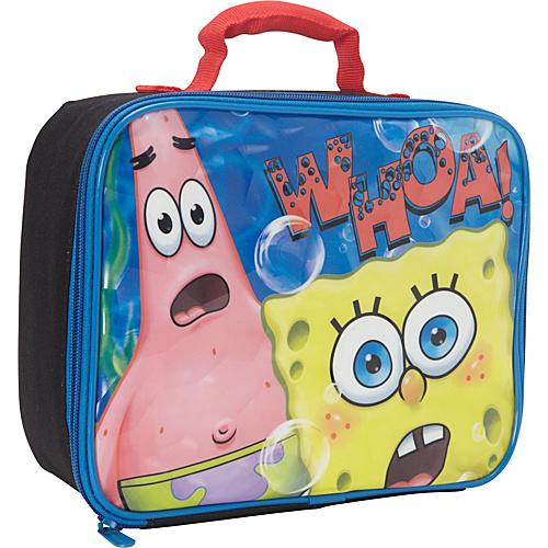 Nickelodeon Spongebob Lunch Box Black - Nickelodeon Travel Coolers
