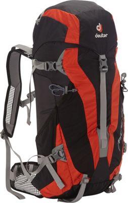 Deuter Pace 30 black-papaya - Deuter Day Hiking Backpacks
