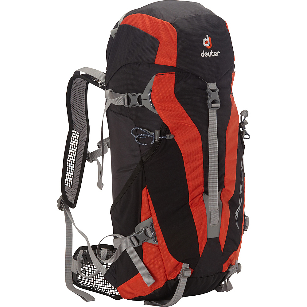 Deuter Pace 30 black papaya Deuter Day Hiking Backpacks