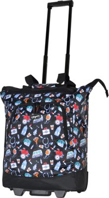 Olympia USA Deluxe Rolling Shopper Tote Black - Olympia USA All-Purpose Totes