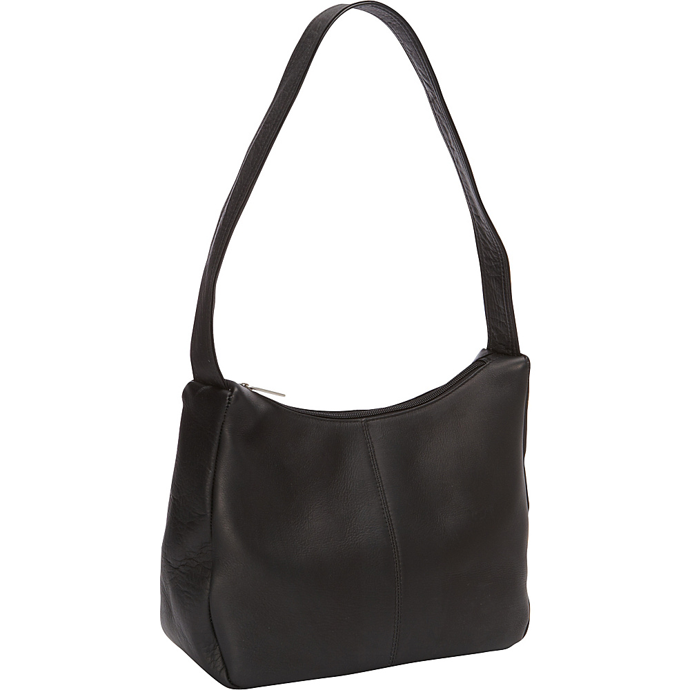 Le Donne Leather The Urban Hobo Black - Le Donne Leather Leather Handbags - Handbags, Leather Handbags