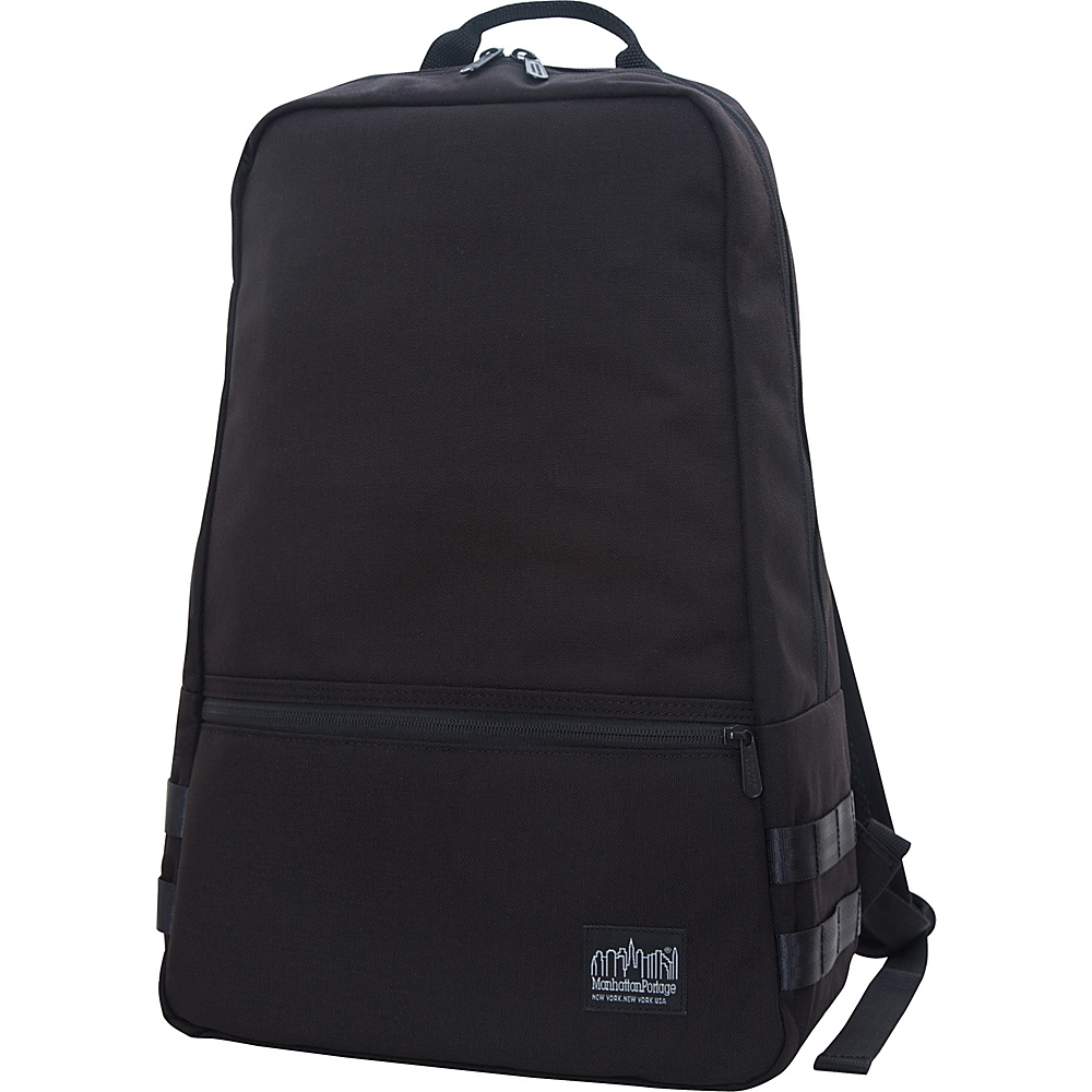 Manhattan Portage Skillman Backpack Black Manhattan Portage Business Laptop Backpacks
