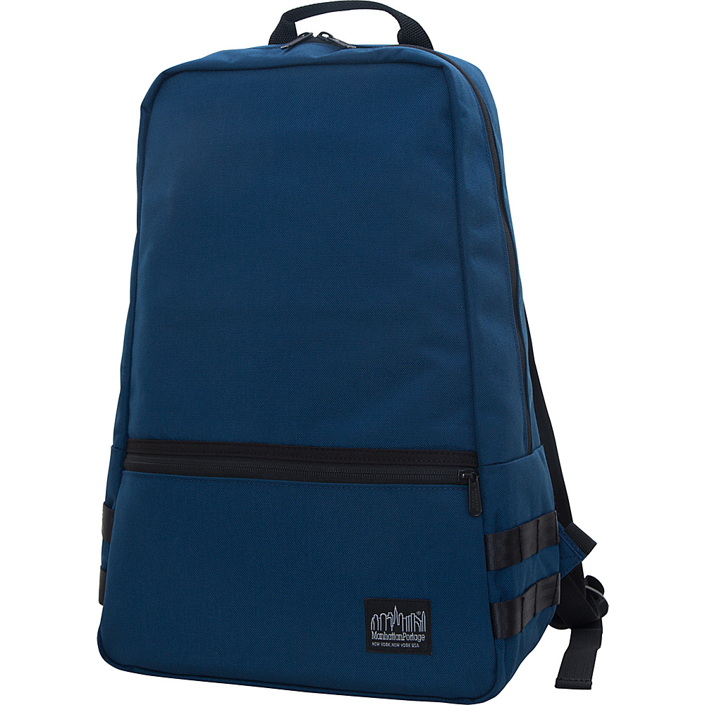 Manhattan Portage Skillman Backpack Navy - Manhattan Portage Business & Laptop Backpacks - Backpacks, Business & Laptop Backpacks