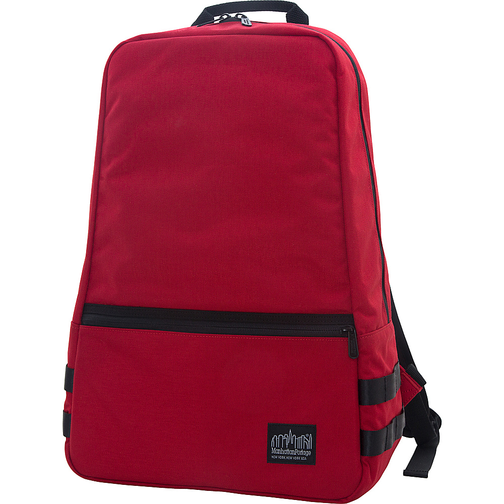 Manhattan Portage Skillman Backpack Red - Manhattan Portage Business & Laptop Backpacks - Backpacks, Business & Laptop Backpacks