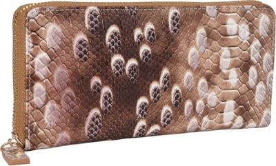 R & R Collections Zip Around Ladies Wallet MULTI - R & R Collections Women's Wallets 10309781