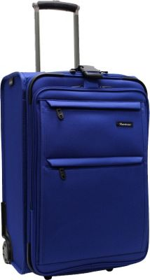 Pathfinder Revolution Plus Exp. 22 inch Business Carry-On W/ Suitor Blue - Pathfinder Softside Carry-On